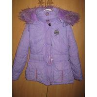 Зимняя курточка рост 116