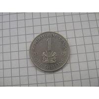 Кения 1 шиллинг 2005г.km34