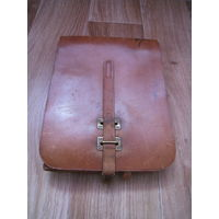 Планшет-полевая сумка офицера Красной Армии 40х годов. Натуральная кожа