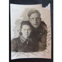 Фото семейное, конец 1940 -х гг.