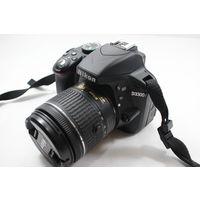 Зеркальный фотоаппарат Nikon D3300 Kit 18-55mm AF-P DX