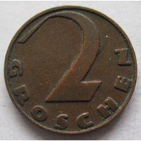 Австрия 2 гроша 1936