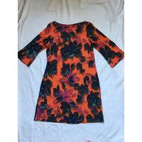 Платье 48-50 марк 14 красивое яркое
