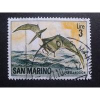 Сан-Марино 1965 птеродактиль