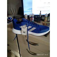 Кроссы ADIDAS edge gameday ROYBLUSILVMTCBLACK 31/4 см по стельке На богатыря