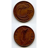 Ирландия 1 пенни 1980 г. KM#20