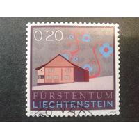 Лихтенштейн 2009 сельский дом