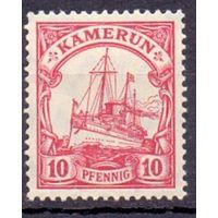 Германия Камерун 10 пф 1906 г