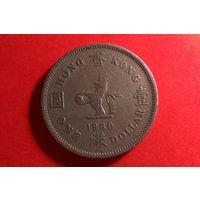 1 доллар 1960 KN. Гонконг.