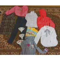 Школьные блуза, брюки, ветровка р. 128-134