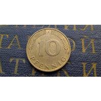 10 пфеннигов 1990 (A) Германия ФРГ #06