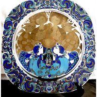 Декоративная тарелка Розенталь 1980г.
