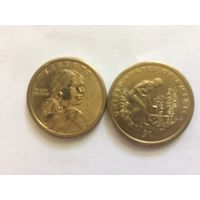 1 доллар США 2009 год Посадка культур