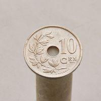 Бельгия 10 сантимов 1921
