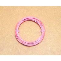 Пластиковая нить PLA 1.75мм (3.10м) (красный цвет)