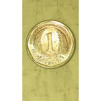 Карибы 1 цент 2011