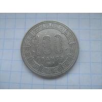 Конго 100 франков 1975г km2