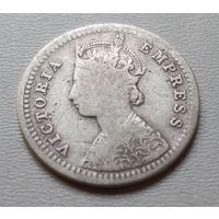 Индия 2 анны 1881 г. (1)