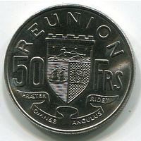 РЕЮНЬОН - 50 ФРАНКОВ 1964