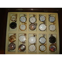 Коллекция карманных часов 20шт за копейки