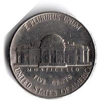 США. 5 центов. 1996 P