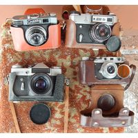 Фотоаппараты одним лотом.