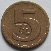 Польша, 5 злотых 1976 г