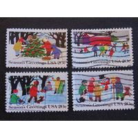 США 1982 г. Рождество. Полная серия.