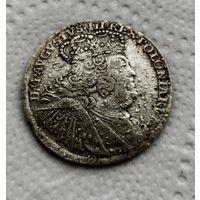 Орт 1755 г.(18 грош).
