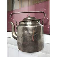 Чайник 3.5 литра Тула 55 год Латунь