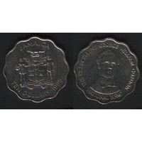 Ямайка km181 10 долларов 1999 год (f50)(ks00)