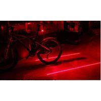 Габариты задние для велосипеда, велоспорт ,безопасность,яркие Waterproof Bicycle Laser