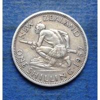 Новая Зеландия 1 шиллинг 1957