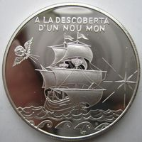 Андорра. 10 динеров , 1994. Серебро. Пруф. 406