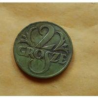 2 гроша 1923г. Польша
