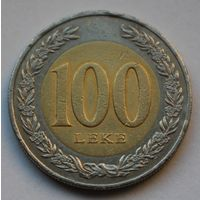 Албания 100 леков, 2000 г.