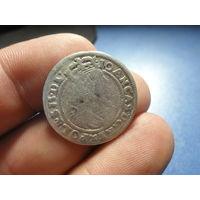6 грошей 1661 г. Ян Казимир (2)