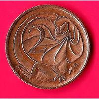 27-18 Австралия, 2 цента 1973 г