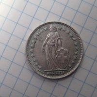 Швейцария 1фр 1960