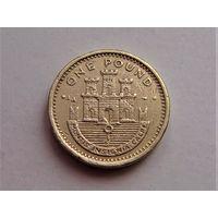 Гибралтар 1 фунт 2001