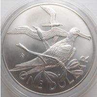 35. Британские Виргинские острова 1973 год, серебро*