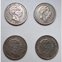 Люксембург 10 сантимов, 1901 6-3-13*16