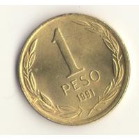 1 песо 1991 г.