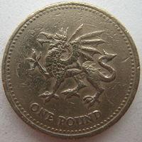 Великобритания 1 фунт 2000 г.