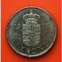 111-15 Дания, 1 крона 1973 г.