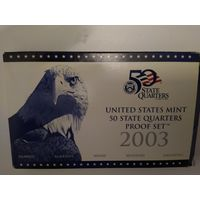 2003 USA proof set 5 по 25 cents