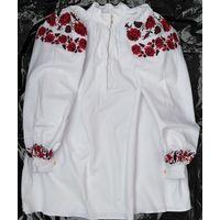 Сорочка домотканая льняная (рубашка, вышиванка), пп. 1920-х гг.