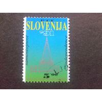 Словения 1991 первая марка Словении
