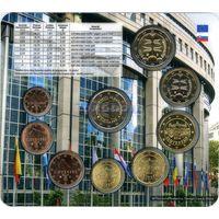 Словакия Набор Евро 2014 Словакия в Евросоюзе BU (9 монет)