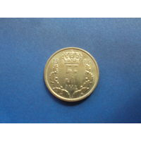 5 франков 1986 люксембург